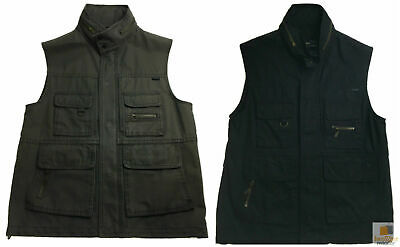 Men's Fishing Hunting Shooting VEST Cotton Outdoor Army Jacket Multi Pocket