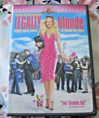 DVD TITLE: LEGALLY blonde (Special Edition)