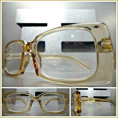 CLASSIC Vintage RETRO Style READING EYE GLASSES READERS Unique Rectangular Frame