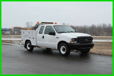 2004 Ford F250 Service Body Extended Cab Pickup Truck - Starting Price $1!