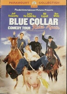 Blue Collar Comedy Tour Rides Again (DVD, 2004) Jeff Foxworthy, Bill Engvall  LN