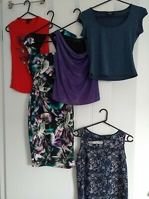 Bulk lot of Ladies Size 6 Clothes Dress & Tops Preowned Excellent Condition