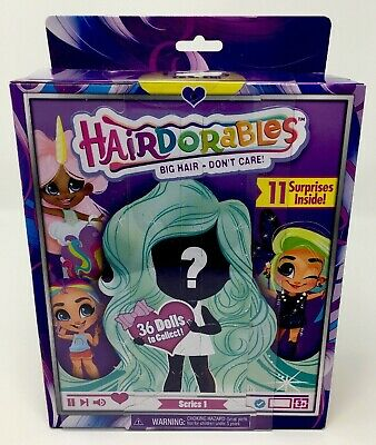 Hairdorables Series 1 Collectible Mystery Surprise Doll And Accessories