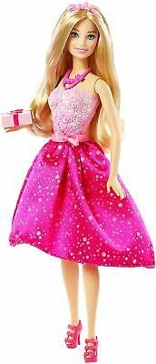 Barbie Beautiful Fashion Doll Celebrate Happy Birthday Toy For Kids Multicolor