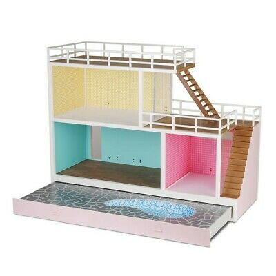 Lundby Stockholm Dollhouse with accessories