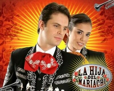 "Colombia,series,""la Hija Del Mariachi"" Version Colombiana, 2006, 30 Dvd, 147 Cap"