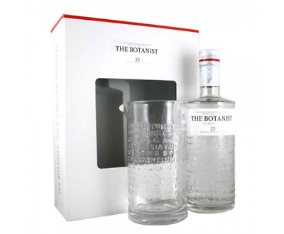 The Botanist Mixing Glass Gift Pack 46% 700mL FAST DELIVERY & FREE SHIPPING