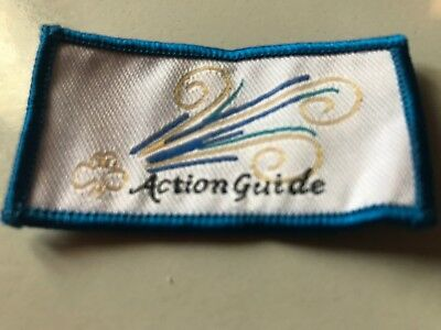 Girl Guides / Scouts Action Guide Blue