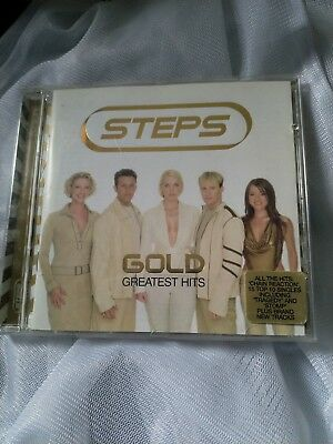 Steps - Gold: Greatest Hits - Steps CD OXVG The Cheap Fast Free Post The Cheap