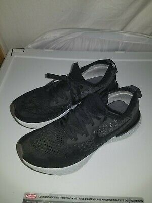 a04a0f0c850f7 Nike Epic React Flyknit Sneakers  943311 001  size 6.5 youth 8 womens