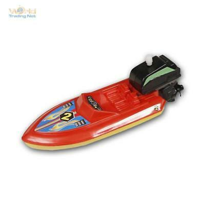 Aufziehbares Motorboat, Boat for Pull up, Toy for Bathtub Pond Pool