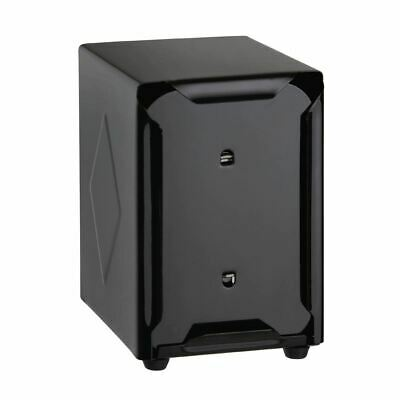 Olympia Stainless Steel Napkin Dispenser in Black - Fits CB392 - 120x90x107mm