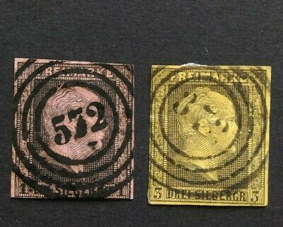 Germany 1857 Prussia Freimarke stamps
