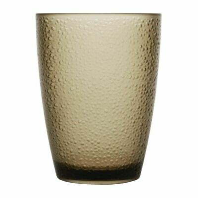 Kristallon Polycarbonate Tumbler Pebbled Tan Capacity - 275ml / 95oz