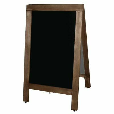Olympia Pavement Chalkboard A-Frame and Double Sided Made of Melamine 500x850mm