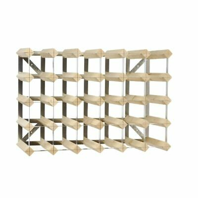 Wine Rack Wooden 30 Bottles