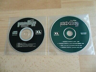 The Prodigy - Fire / Voodoo People (Set Of 2 Cd Singles - No Covers) Keith Flint