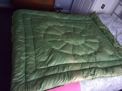 Vintage 1940's feather eiderdown