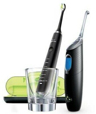 PHILIPS Sonicare Black Edition Diamond Clean & Air Floss Ultra HX8491/03 - NEU