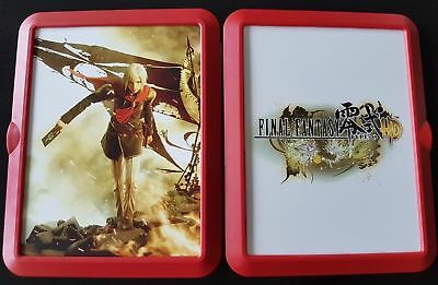 Final Fantasy Type-o HD - limited edition Case - rare - collectors item - PS4