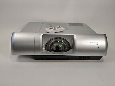 Promethean PRM-30A Short Throw HDMI Projector with New Lamp Remote Power Cable