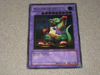 YUGIOH! Master of Oz SOD-EN035 ULTIMATE RARE