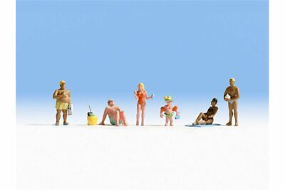 HO scale Noch SIX Nude Bathers FIGURES # 15843