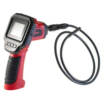 Industrial Flexible Video Inspection Camera Color LCD Borescope Monitor 8mm dia