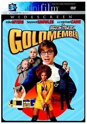 Austin Powers in Goldmember (DVD, 2002, Widescreen) Mike Myers, Beyonce