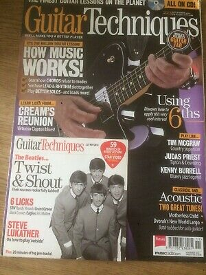 Guitar Techniques magazine & CD: November 2013