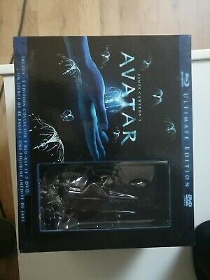 Coffret 3 Blu Ray : Avatar - Version Longue - Collector - NEUF