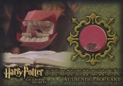 Harry Potter and the Chamber of Secrets Howler Prop Card HP P2 #076/190