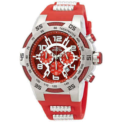 Invicta Speedway Chronograph Red Carbon Fiber Dial Men's Watch 24230