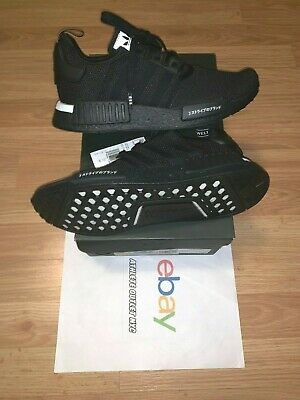 New Adidas Nmd R1 Triple Black Japan 2019 Men's Size 8 & 11 Running Shoes BD7754