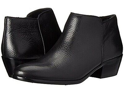 5833f3715 NWB Sam Edelman Petty Ankle Bootie Boots - Black Tumbled Leather - Size 6.5