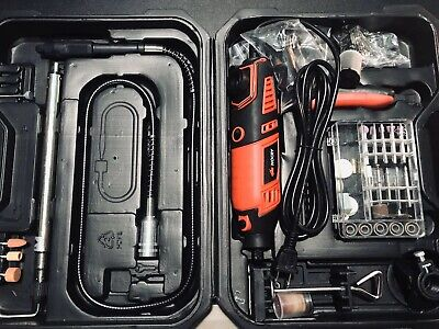 NoCry 10//125 Professional Rotary Tool Kit with Heavy Duty 170W Electric Motor U