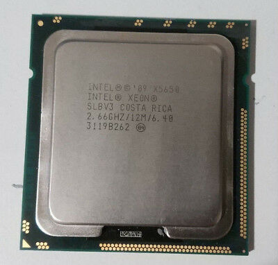 Intel Xeon X5650 2.66GHZ Six Core CPU Processor LGA1366