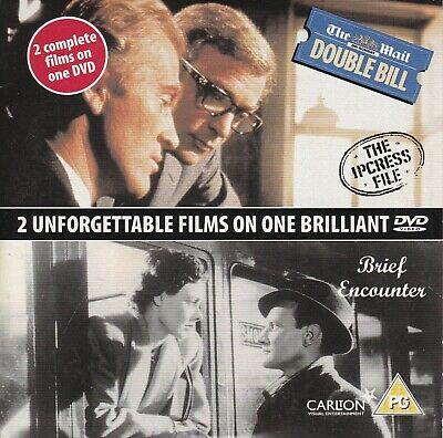 THE IPCRESS FILE / BRIEF ENCOUNTER ( The Mail On Sunday Promo DVD )