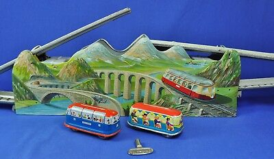 Blechbahn / Tin Track: Technofix Mountain Express 252, Western Germany, 1948-52