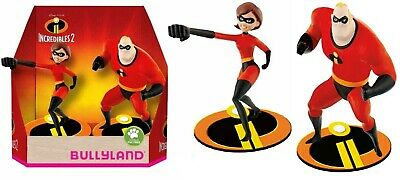 Disney Bullyland Incredibili 2 The Incredibles 2 Bob + Helen 13288 Double Pack