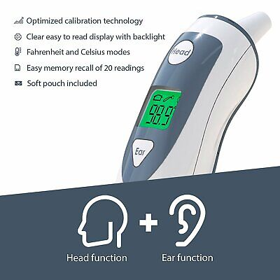 iProven Medical Ear Thermometer with Forehead Function DMT-489 Upgraded