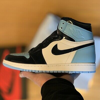 9eaba059fb94ca Nike Air Jordan 1 Retro High Blue Chill UNC CD0461-401 Wmns size 9.5 Mens