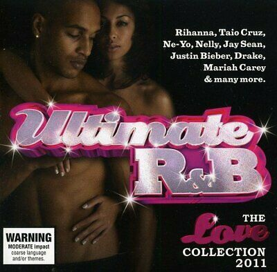 Ultimate R&B - The Love Collection 2011 2CD 2011 NEW/SEALED