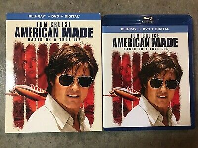 American Made (Blu-ray) Tom Cruise With Slipcover