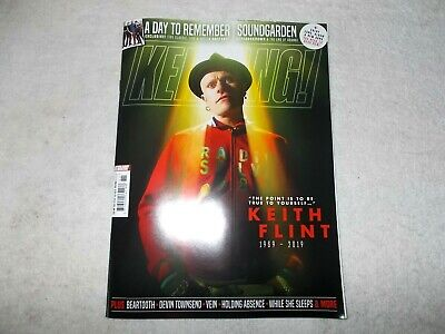 Kerrang! Magazine Issue 1764 16th March 2019 The Prodigy Keith Flint Tribute