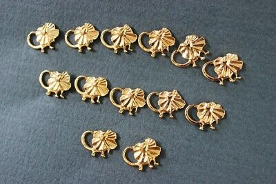 25 x Australian Made 24k Gold Plated Frilly Lizard Hat/Lapel Pins Loose Bulk