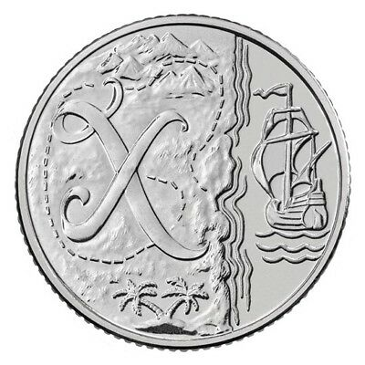 2018 NEW A-Z 10p COIN UNCIRCULATED X MARKS THE SPOT