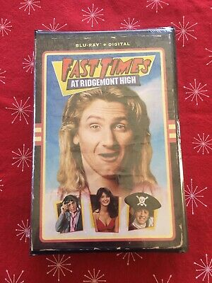 Fast Times at Ridgemont High Bluray And Digital Download With VHS Artwork