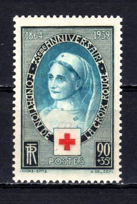France 1939 - Red Cross Nurse - Mint Never Hinged