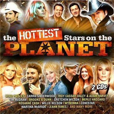 HOTTEST STARS ON THE PLANET feat. Lee Brice, Kenny Chesney, Alan Jackson 2CD NEW
